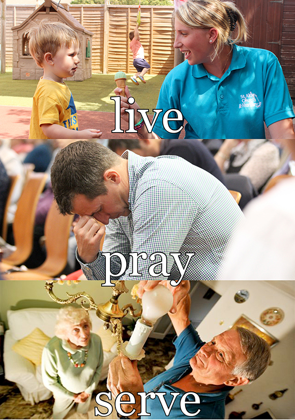 Live Pray Serve - Our Strategy - Leaflet (Dec 2015)