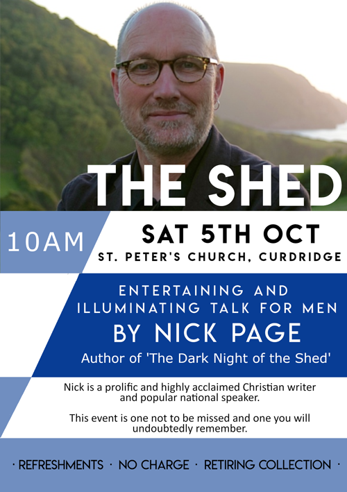 The Shed, with Nick Page