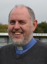 Rev Andy Wilson - chaplain for Havant and Waterlooville Foot