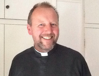 Rev Jonathan Jeffery - chaplain to Portsmouth Football Club.