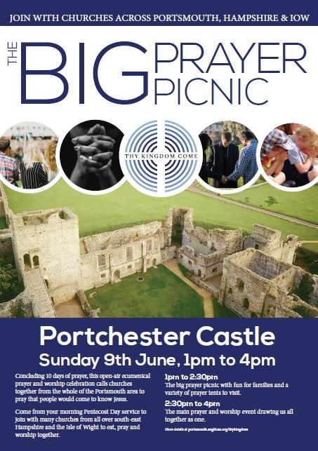 Thy Kingdom Come A4 poster for Big Prayer Picnic