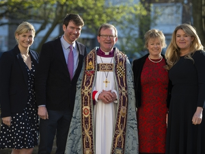 Tributes paid to Bishop Christopher as he steps down