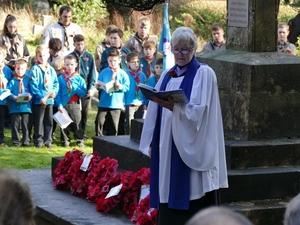St Peter's Curdridge remember the fallen