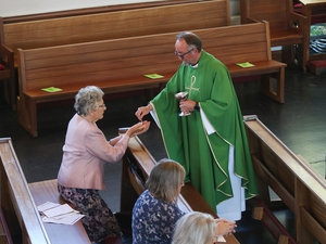 Celebration of 50 years since ordination