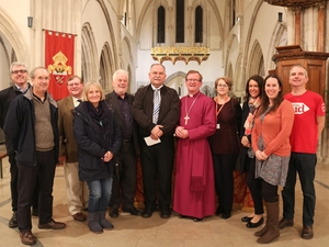 Worshippers raise £26,000 to help vulnerable people