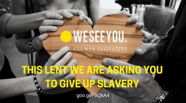 Lent 2018 - Clewer Initiative - Modern Slavery