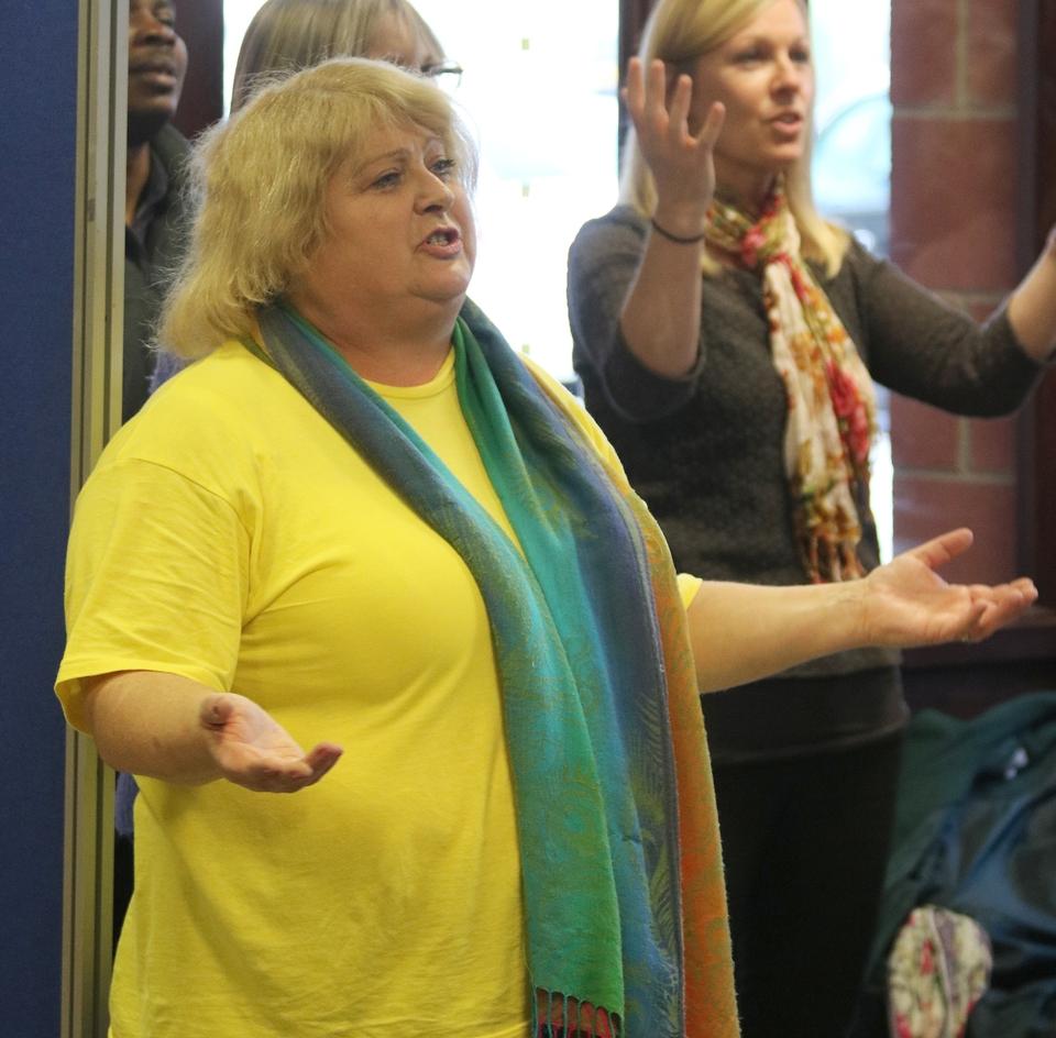 Jeannette Hayward worships in St Margaret's Community Church, Eastney