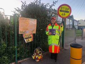'Lollipop lady' chalks up 25 years