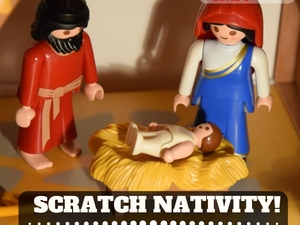 Scratch Nativity at St Luke's Southsea