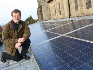 Church's solar panels are paying dividends