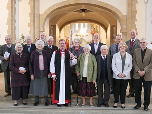Worshippers honoured for their service to church and community