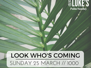 Look Who's Coming - Palm Sunday