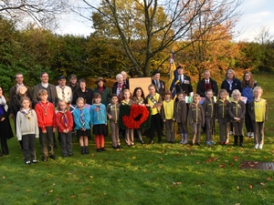 Liss Tree Planting for Remembrance 100