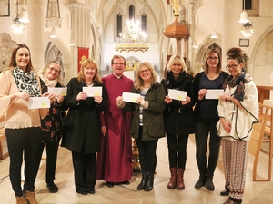 Worshippers donate record amount to combat human trafficking and domestic abuse