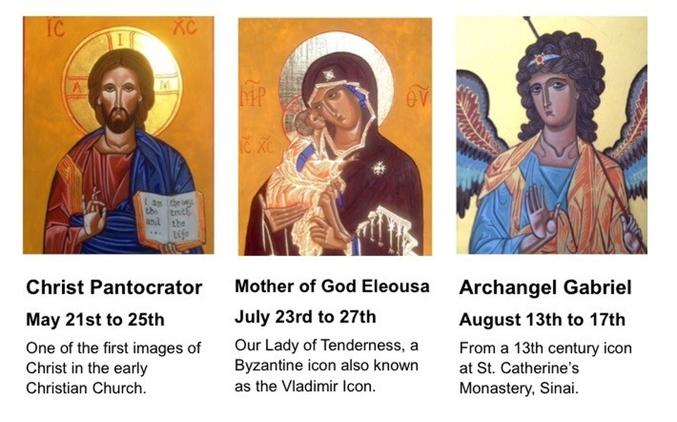 Icon Painting Courses - Jackie Hunt-dates