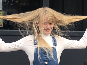 Ten-year-old donates hair to charity