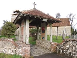Village war memorial re-dedicated after repair