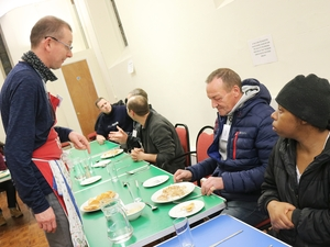 Churches open doors to the homeless on coldest nights of winter