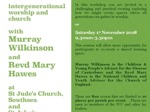 INTERGENERATIONAL WORSHIP & THE CHURCH
