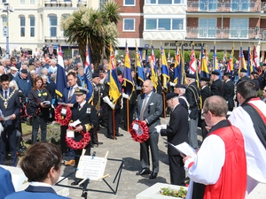 Portsmouth was focus for poignant D-Day events