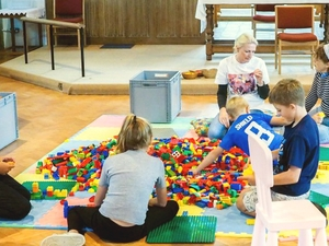 Build@Church meets Messy Church