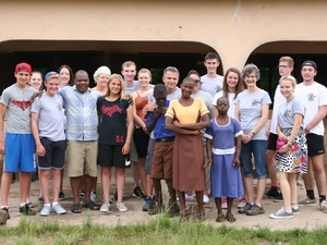 Teenagers set for Ghana trip next year