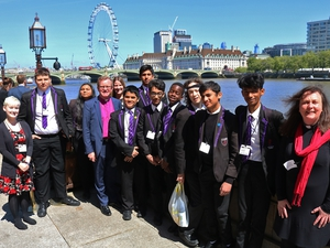 Students given tour of Parliament