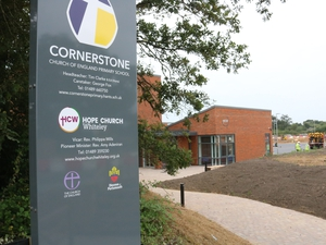 Bishop opens new school and church building in Whiteley