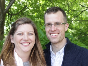 Husband and wife to share curate's role